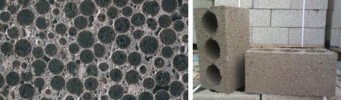 Особенности изделий из керамзита