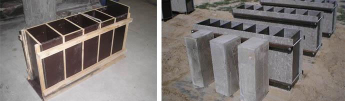 Формы для стройматериалов из пенобетона