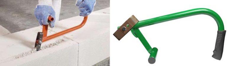 Сделать штроборез для газобетона