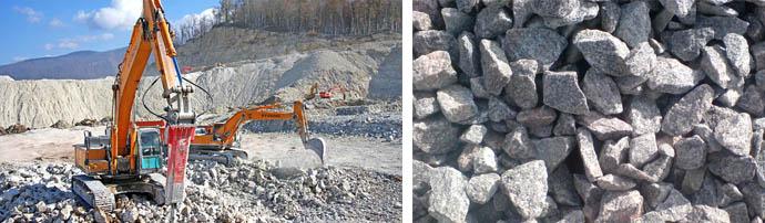 Щебень для цементных составов