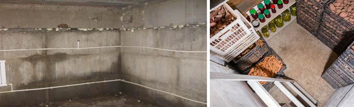 Как высушить погреб или подполье в гараже