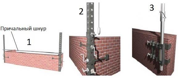 Приспособления для монтажа блоков
