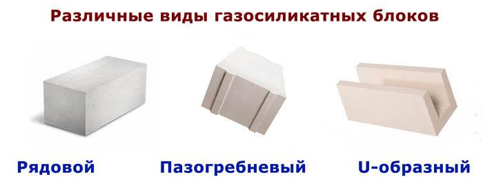 Разновидности кирпичей силикатных и их габариты