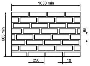 Схема кладки кирпичей одноэтажного дома