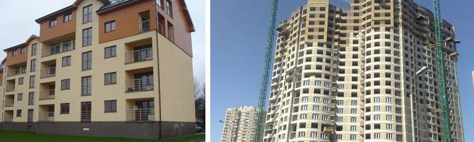 Фото монолитных зданий