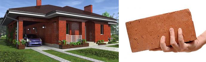 Нюансы проектирования частных домов с использованием кирпича