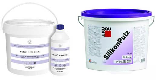 Эпоксидные и силикатные инъекционные составы