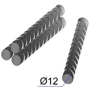 Арматурные прутья диаметром 12 мм