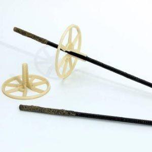 Гибкие базальтопластиковые связи для газоблока и кирпича