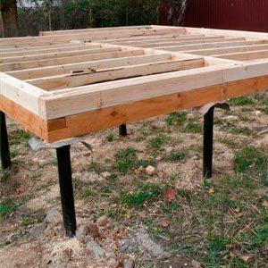 Самостоятельное возведение фундамента для брусового дома по шагам