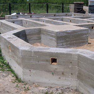 Технология возведения фундамента на пучинистой почве