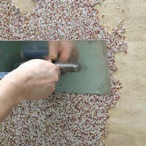 Штукатурка для декоративной отделки фасадов