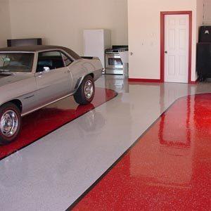 Чем покрасить бетонные полы в гараже