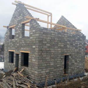 Дома из арболитовых блоков