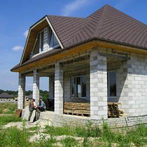 Лучшие проекты частных домов из шлакобетонных блоков