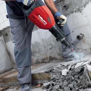 Демонтаж железобетона и бетона