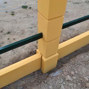 Столбы из бетона для заборов