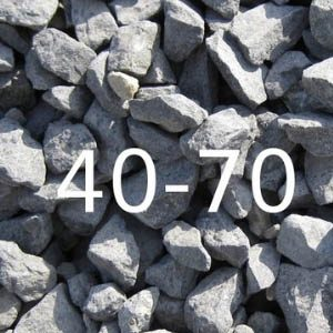 Щебень из гранитных пород фракцией 40-70 мм