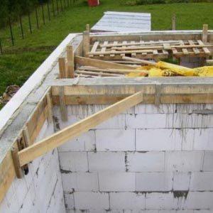 Перекрытия из дерева в газобетонном доме
