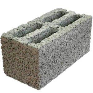 Блоки из керамзитобетона размером 20х20х40 см