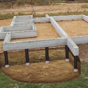 Пошаговая инструкция по строительству фундаментов ТИСЭ