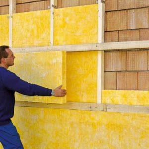Теплоизоляция стен кирпичного дома современными утеплителями