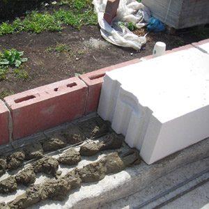Укладка блоков из газосиликата и стоимость работы за 1 м3