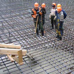 Расчет количества бетона для заливки фундамента