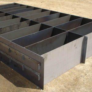 Формовочные контейнеры для получения пенобетонных блоков