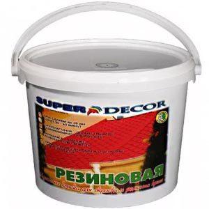 Резиновые лакокрасочные материалы для отделки бетонных поверхностей