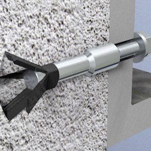 Специальные крепежи для блоков из газобетона