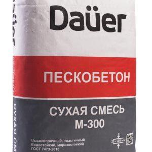 Пескобетон марки М300