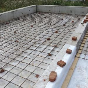 Армирование монолитных железобетонных плит