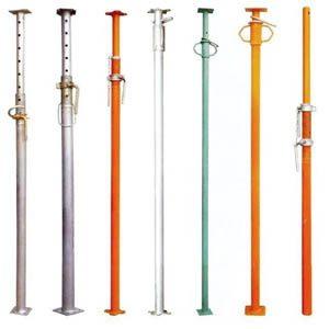 Телескопические монтажные стойки для сборки опалубки