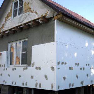 Способы наружного утепления газобетонного дома