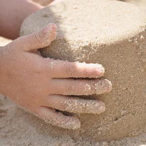 Величина насыпной плотности строительного песка