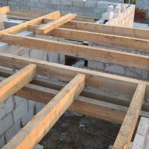 Разновидности перекрытий 1 этажа в газобетонном доме