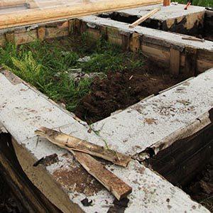 Когда после заливки бетонной смеси можно снять опалубку?