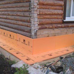 Инструкция по теплоизоляции фундамента плитами Penoplex