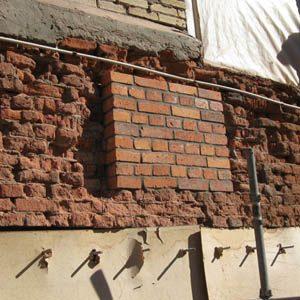 Как проводится и сколько стоит реставрация старой кирпичной кладки