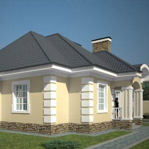 Обзор проектов домов из газосиликатных блоков