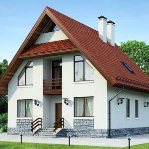 Обзор проектов загородных домов из пеноблоков площадью 100-150 м2