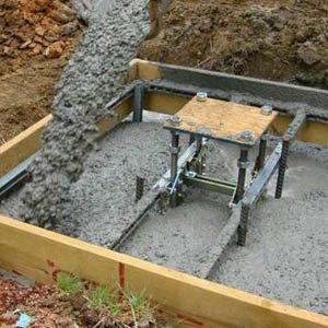 Расценки на работу по заливке фундамента за 1 м3