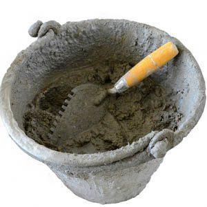 Как правильно разводить цементный раствор