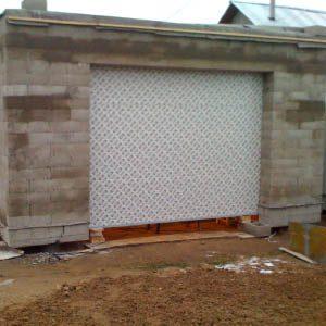 Как самому построить гараж из пенобетонных блоков?