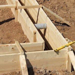 Как самостоятельно сделать опалубку для заливки фундамента?