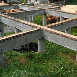 Строительство свайного фундамента с монолитным ростверком