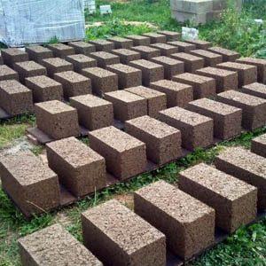 Самостоятельное изготовление блоков из арболита