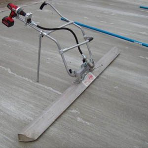 Как сделать виброрейку для укладки бетонного раствора