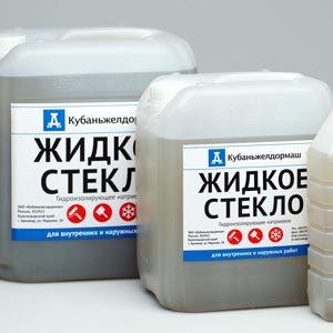 Жидкое стекло для бетонных растворов